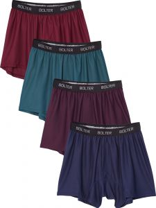 Performance Boxers Shorts 4 Pack